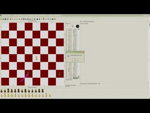 *HD 1080-P* Confuse & Beat Computer K Chess Elite in 55 moves (Ply 0)