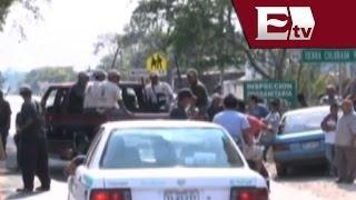 Pobladores de Ocotito, Guerrero, evitan desarme de autodefensas por militares/ Titulares de la tarde