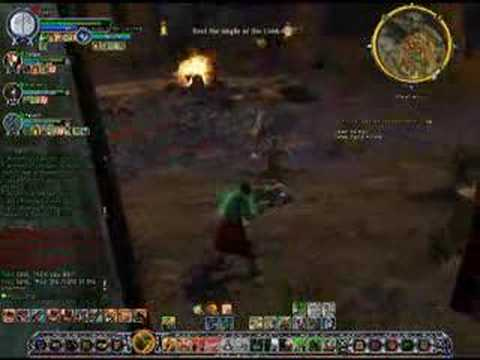 LOTRO Retake Weathertop final boss video gameplay