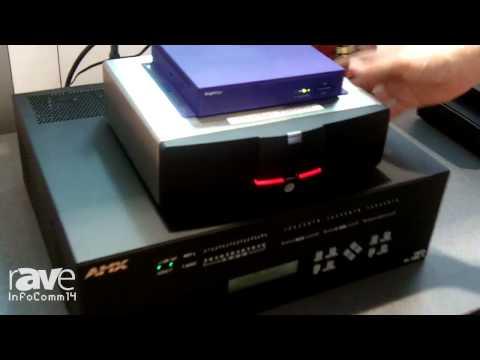 InfoComm 2014: Almo Pro AV Demos Barco's ClickShare Button