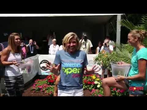 Connecticut Open's Anne Worcester Takes ALS Ice Bucket Challenge
