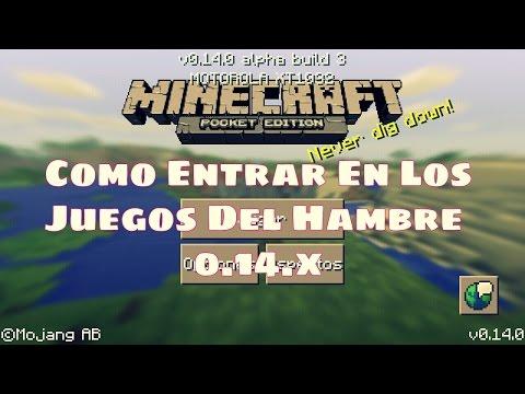 Como Entrar En Los Juegos Del Hambre Minecraft Pocket Edition 0.14.0   0.14.1   0.14.2   Lifeboat
