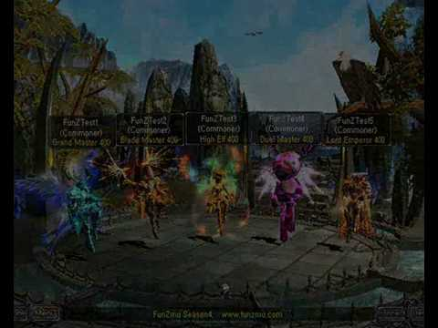 FunzMu Online Season 4 Episode 2 / New Custom Sets , Weapons, 3D , MU Online