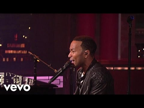 John Legend - Let's Get Lifted (Live on Letterman)