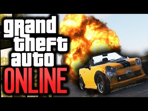 GTA 5: Online - Mini Cooper Challenge! - #1 - (GTA V Funny Moments)