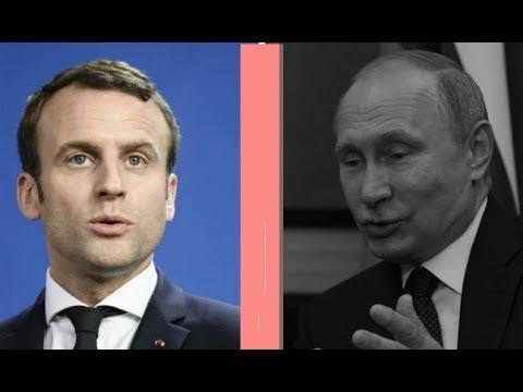Е.Киселев о итогах встречи Макрона и Путина. Отметили 300-летие поездки Петра Первого во Францию.