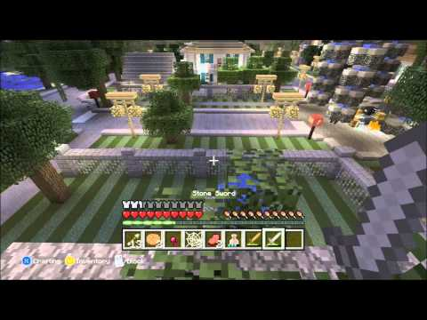 Minecraft Xbox- Neighborhood Hunger Games w/ Stampylongnose, IballisticSquid