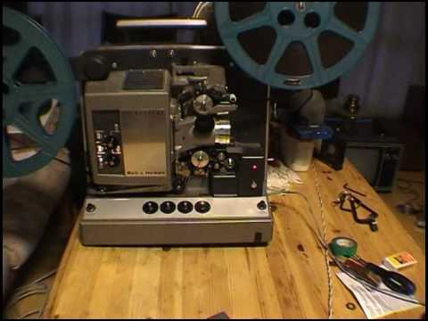 Bell And Howell 8d 655 16mm Film Projector Youtube