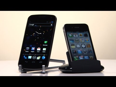 iPhone 4S VS Galaxy Nexus Best Smartphone Test