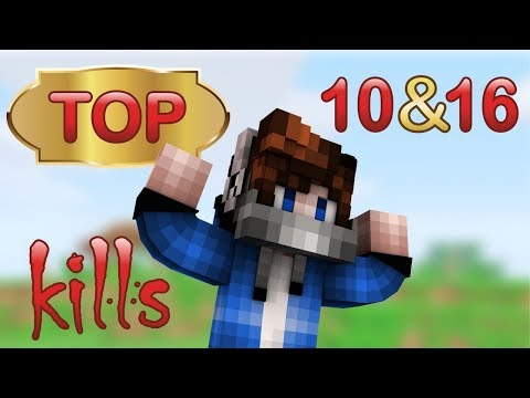 TOP KILLS 10 & 16 [Hypixel Sky Wars Minecraft Mini-Game]