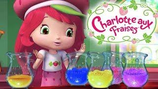 Charlotte Aux Fraises 🍓 Les aides de nettoyage de fraise 🍓 Dessin Animé Aventures à Fraisi Paradis