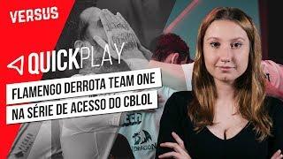 A FINAL DA SÉRIE DE ACESSO DO CBLOL - Quick Play | Versus