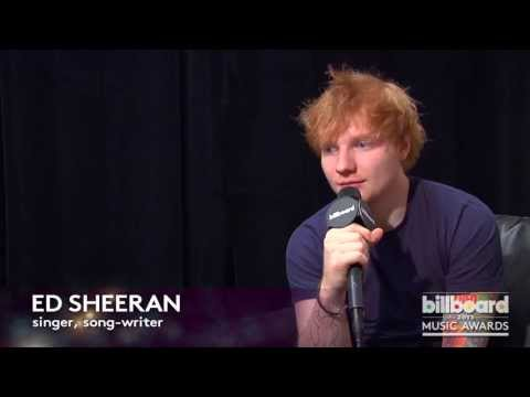 Ed Sheeran: Rehearsal Q&A at the 2013 Billboard Music Awards