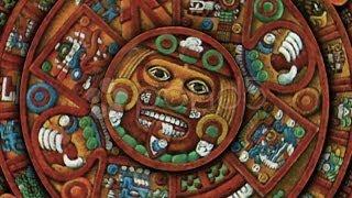 Mayan Doomsday 2012 Calendar (ArmageddonEnd of the World(technically Aztec). Stock Footage