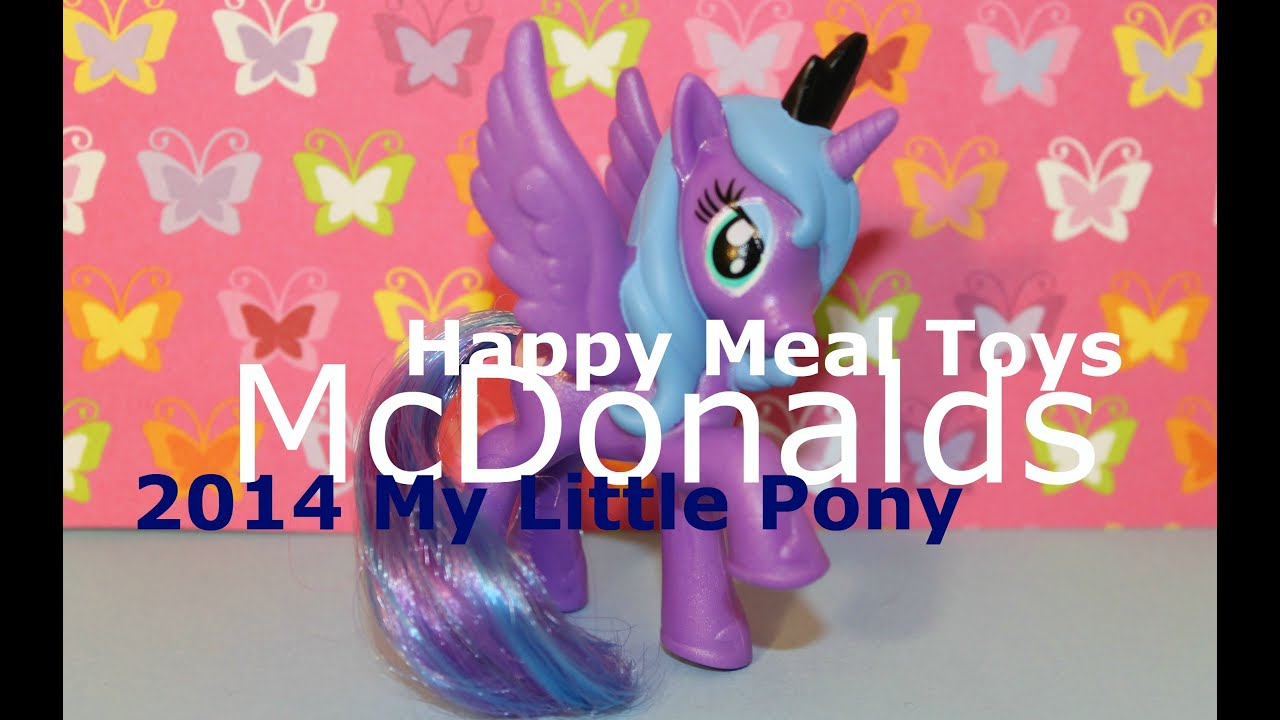 Mcdonalds Happy Meal Toys 2014 My Little Pony McDonalds   My Little Pony