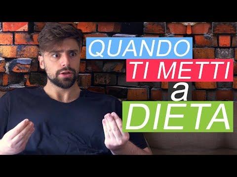 QUANDO TI METTI A DIETA