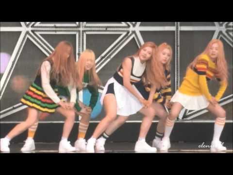 150321 Red Velvet [Ice cream cake] @SMTOWN in Taiwan