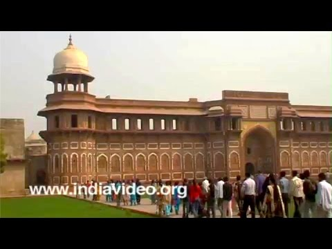 Agra Fort Mughals Uttar Pradesh India