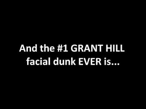 Grant Hill's Top 11 Career Facial Dunks
