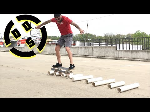 PVC Pipe Skateboarding Extended Version