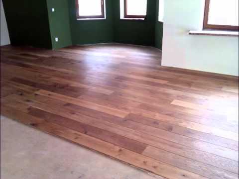 Pokládka drevenej podlahy