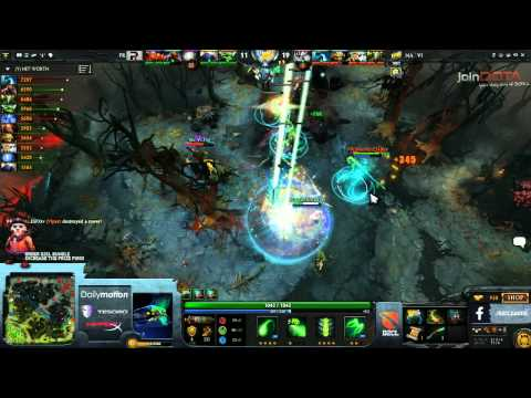 Na'Vi vs Power Rangers Game 3   Dota 2 Champions League EU Final @TobiWanDOTA