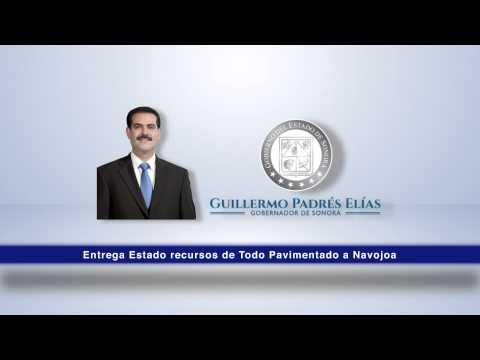 Entrega Estado recursos de Todo Pavimentado a Navojoa. 07-11-2014