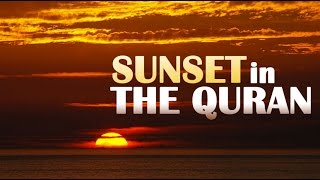 Video: In Quran 18:86, the Sun sets in the murky Sea - Shabir Ally