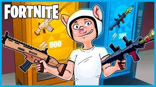 LEGENDARY SCAR and RPG VENDING MACHINE in Fortnite: Battle Royale! (Fortnite Funny Moments & Fails)