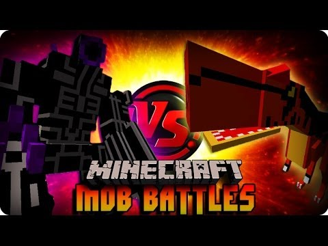 ROBO-WARRIOR VS ALLOSAURUS ! Minecraft Mob Battle (ORESPAWN MOD)