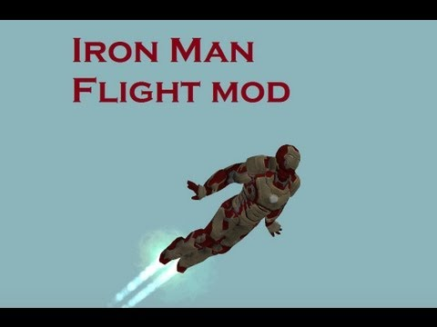 GTA San : Iron Man Flight Mod (Beta)