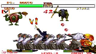 Samurai Shodown 2 - Ukyu Tachibana (Arcade) Level 8