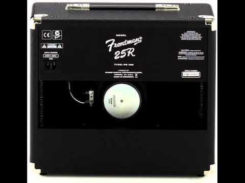 Fender 25r Frontman Series ii Amp Fender Frontman ii 25r Review