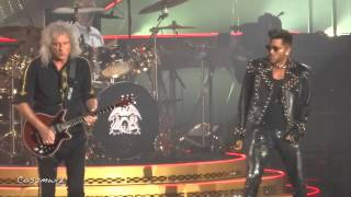 download lagu Queen + Adam Lambert Now I'm Here - Los gratis