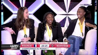 L'equipe de France dans Happy Sports [2017-12-18]