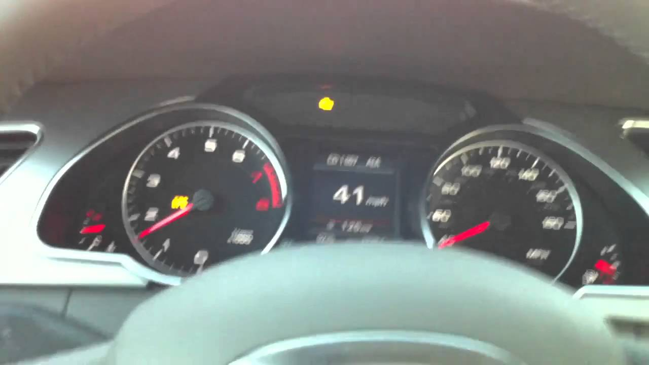 Serious Problem of Audi A5 - YouTube