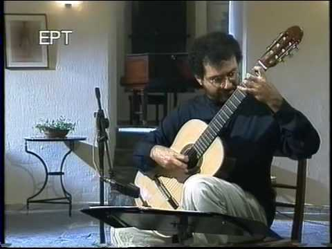 Fernando Sor Etude in D minor