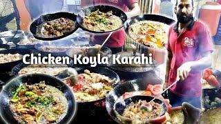 Chicken Koyla Karahi | Bilal Hassan Zai | Street food Karachi Pakistan