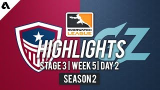 Washington Justice vs. Guangzhou Charge | Overwatch League S2 Highlights - Stage 3 Week 5 Day 2