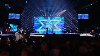The X Factor UK 2017 Sing-Off for the Final Chair Six Chair Challenge Full Clip S14E14