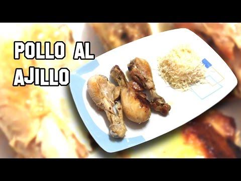 Como Hacer Pollo al Ajillo | Recetas de Cocina