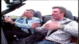 Fifth Gear Web TV - Tiff scares Jason