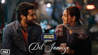 DIL JAANIYE Video   Khandaani Shafakhana   Sonakshi Sinha  Jubin Nautiyal,Payal Dev   Love Song 2019