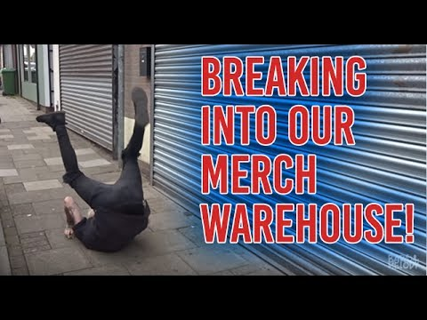 download lagu Breaking Into Our Merch Warehouse **giveaway** gratis