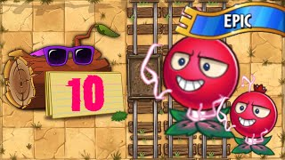 Plants vs Zombies 2 - Epic Quest: Electrical Boogaloo! - Stage 10 | No Premium [4K 60FPS]