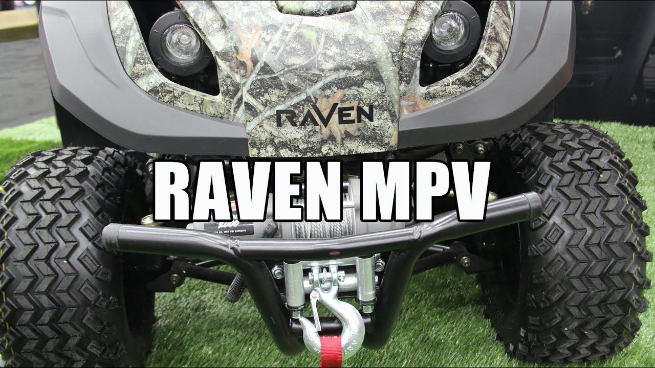 Raven Mpv 7100 Mower Atv Generator Youtube