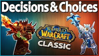 What Class to Pick in Classic Vanilla WoW and More! Community Questions Answered.