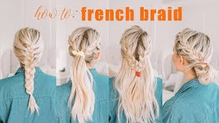 Learn How To French Braid + CHALLENGE BEGINS!!!!! | Twist Me Pretty