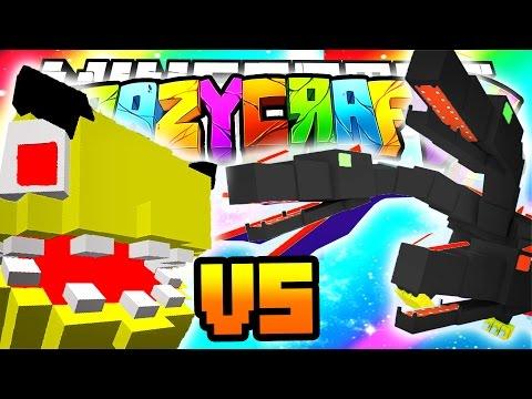 Minecraft crazy craft 3 0 queen vs pacman death orespawn mod 32