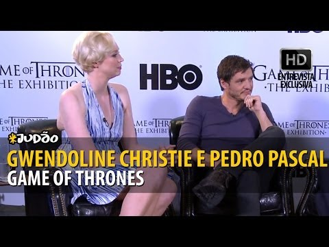 GAME OF THRONES | Entrevista com Gwendoline Christie e Pedro Pascal (HD) JUDAO.com.br